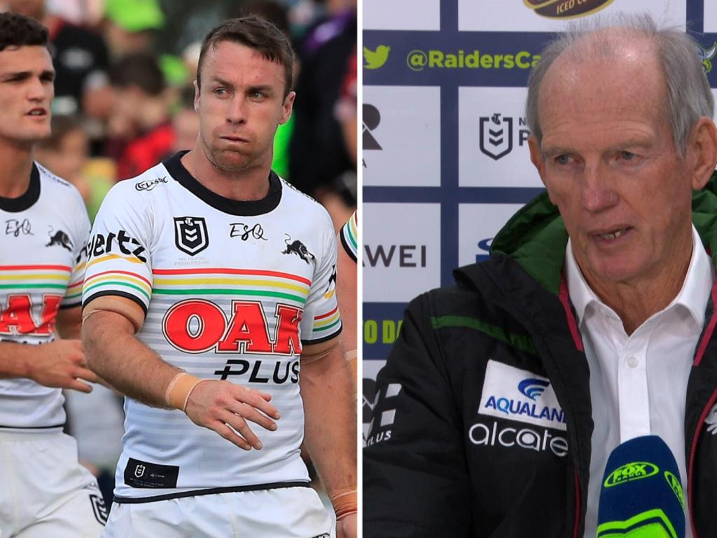Wayne Bennett has given a brutal assessment of the Panthers.