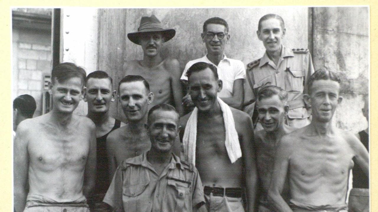There were more than 22,000 Australians taken prisoner by Japanese forces during World War II. This is a photo of a group of Australian prisoners who survived. It was taken on September 9, 1945, the day they were liberated from Changi Prison, Singapore. Picture: Australian War Memorial
