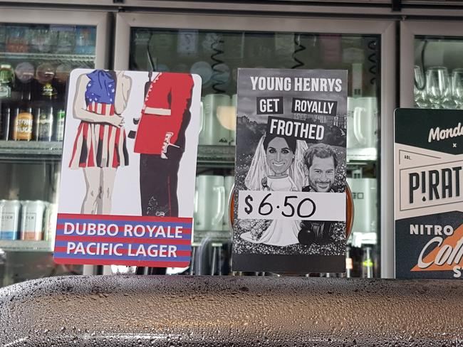 Dubbo Royale and Get Royally Frothed on tap.