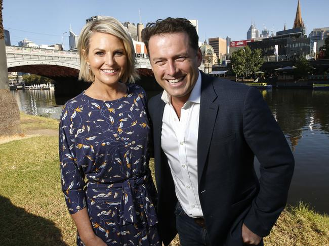 Georgie Gardner and Karl Stefanovic in 2018. Picture: David Caird.