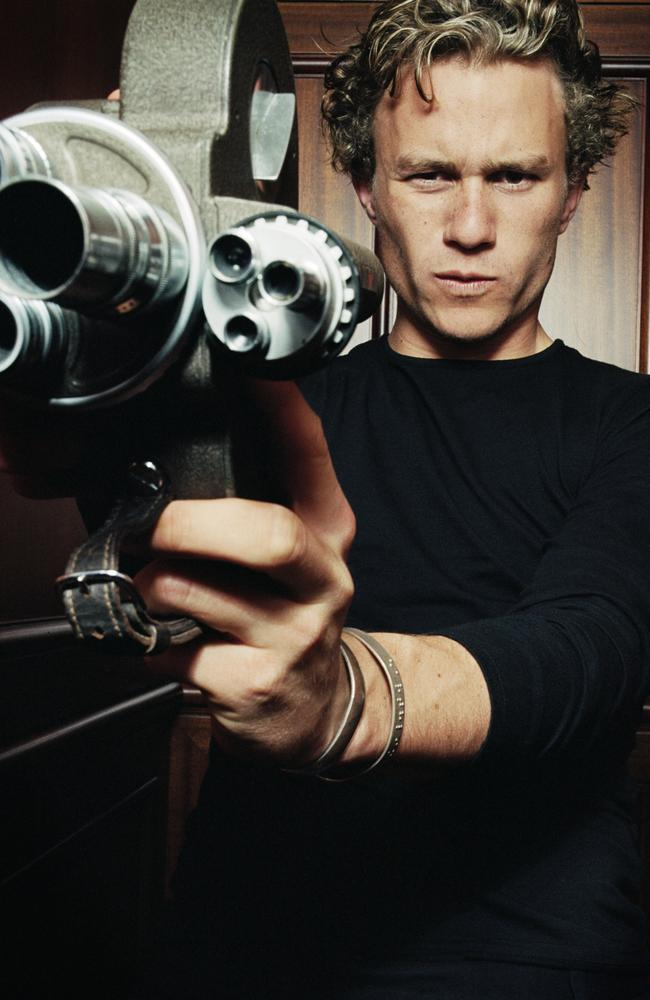 Heath Ledger was also comfortable behind the camera.