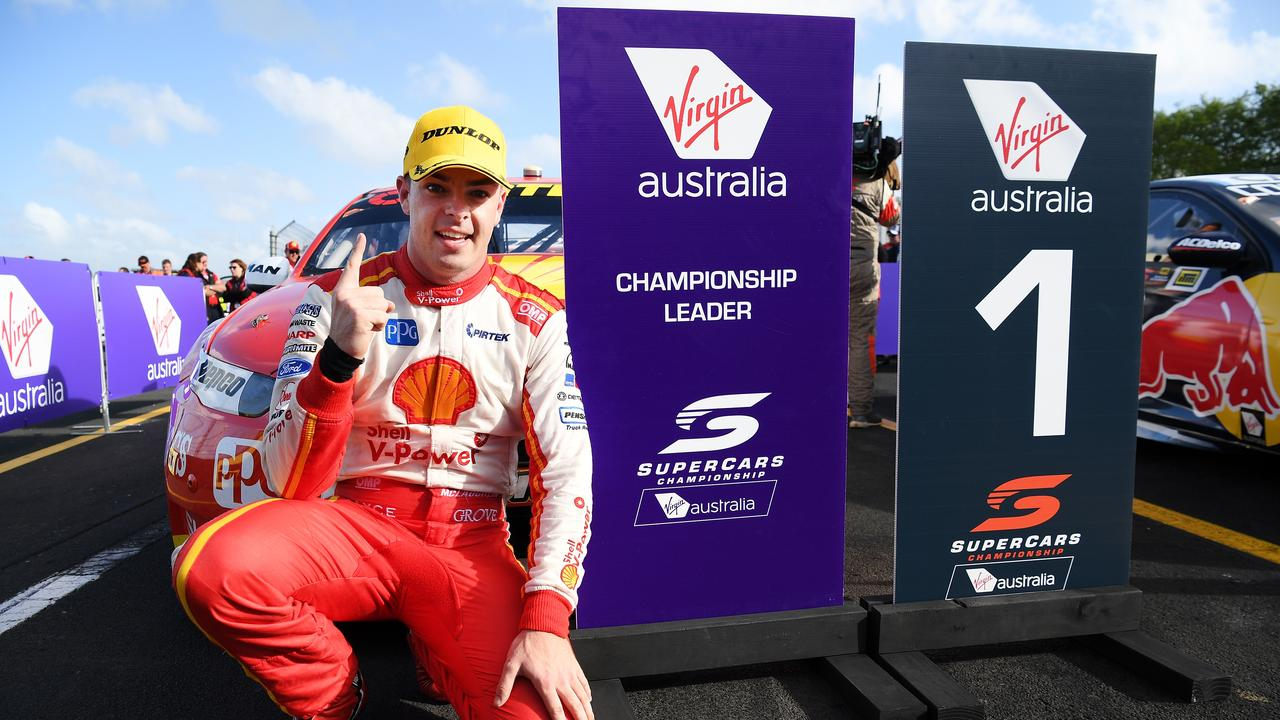 Scott McLaughlin takes a 14-point lead to Newcastle.