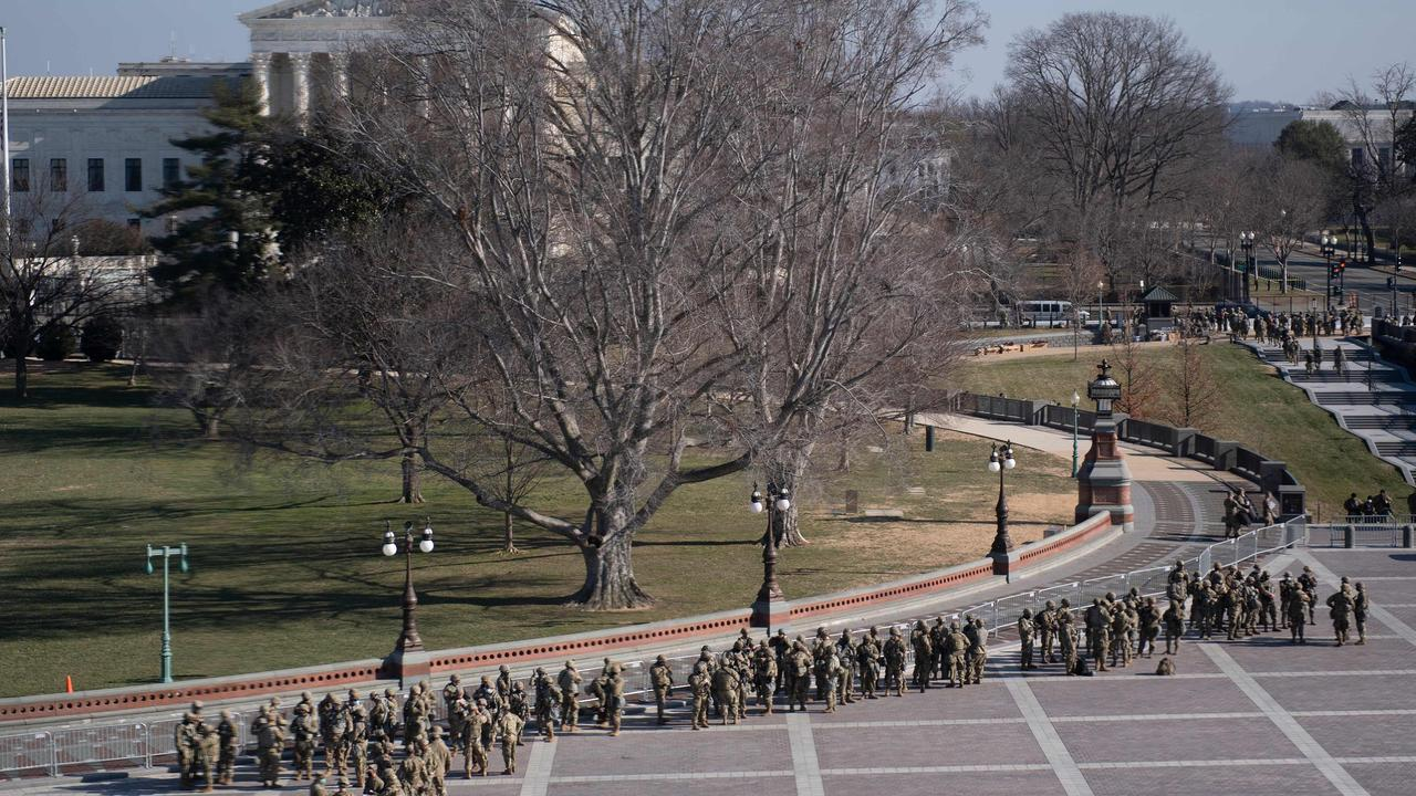 Crazy new pictures show level of threat posed to inauguration – NEWS.com.au