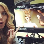 "Blake Lively get's silly on set with Loreal ... ""Hairy Potter"" Picture: Instagram"
