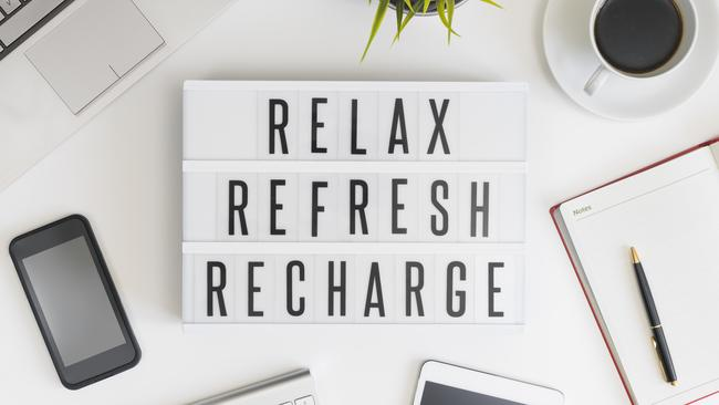 Make a conscious effort to enjoy your weekend instead of counting down until you're back at your desk. Source: iStock