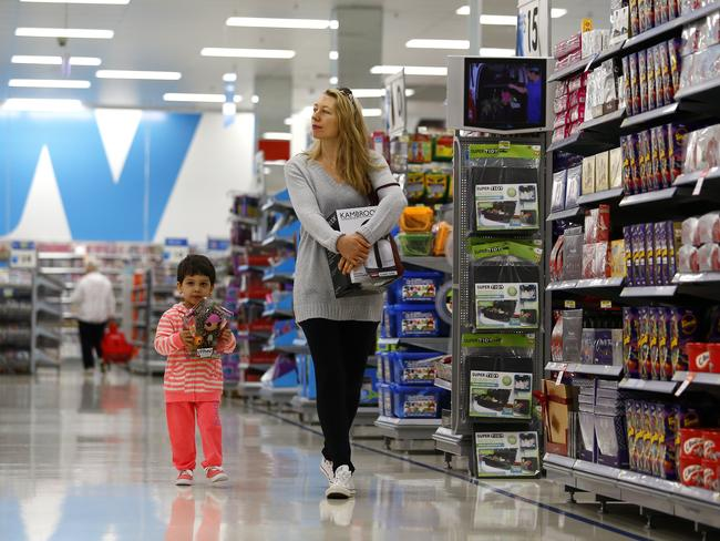 Retailers are targeting women from their second trimester all the way through the baby's childhood. Picture: Bradley Hunter