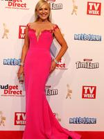Kerri-Anne Kennerley on the red carpet at the 2015 Logie Awards at Crown Casino in Melbourne. Picture: Julie Kiriacoudis