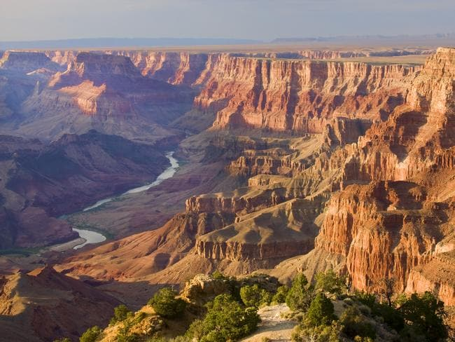 The Grand Canyon National Park.