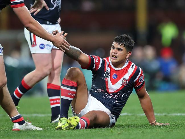 Teammates for both the Roosters and Blues have got behind Mitchell.