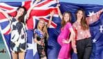 Thousands of people from around the world will celebrate their first Australia Day as citizens after taking part in ceremonies at councils around the state next Saturday. Pic for Sunday Herald Sun. Samantha Hudson (34 yrs) from Canada Ð 0466 640 790 Jessica Liendo (31 yrs) from Colombia Ð 0406 939 017 Yulia Khayretdinova (28 yrs) from Russia Ð 0412 535 634 and Danijela Bulatovic (32 yrs) from Montenegro Ð 0435 622 151. Picture: Tim Carrafa