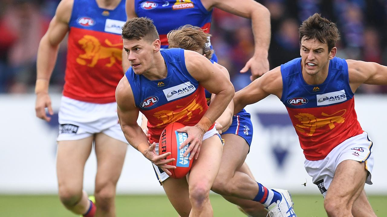 Dayne Zorko of the Lions is the best inside 50 kick in the AFL.