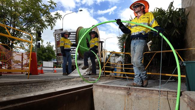 The NBN is due to connect most Australian households to the internet by 2020.