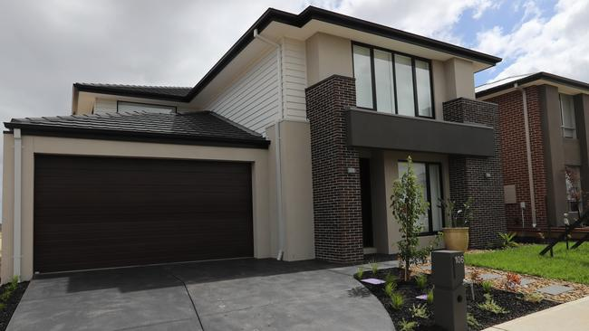 The home at 106 Newgrange Blvd, Clyde North is being auctioned to help raise funds to support Neale Daniher's FightMND charity. Picture: Alex Coppel