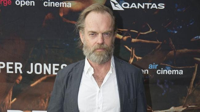 Hugo Weaving. Picture: Darren Leigh Roberts