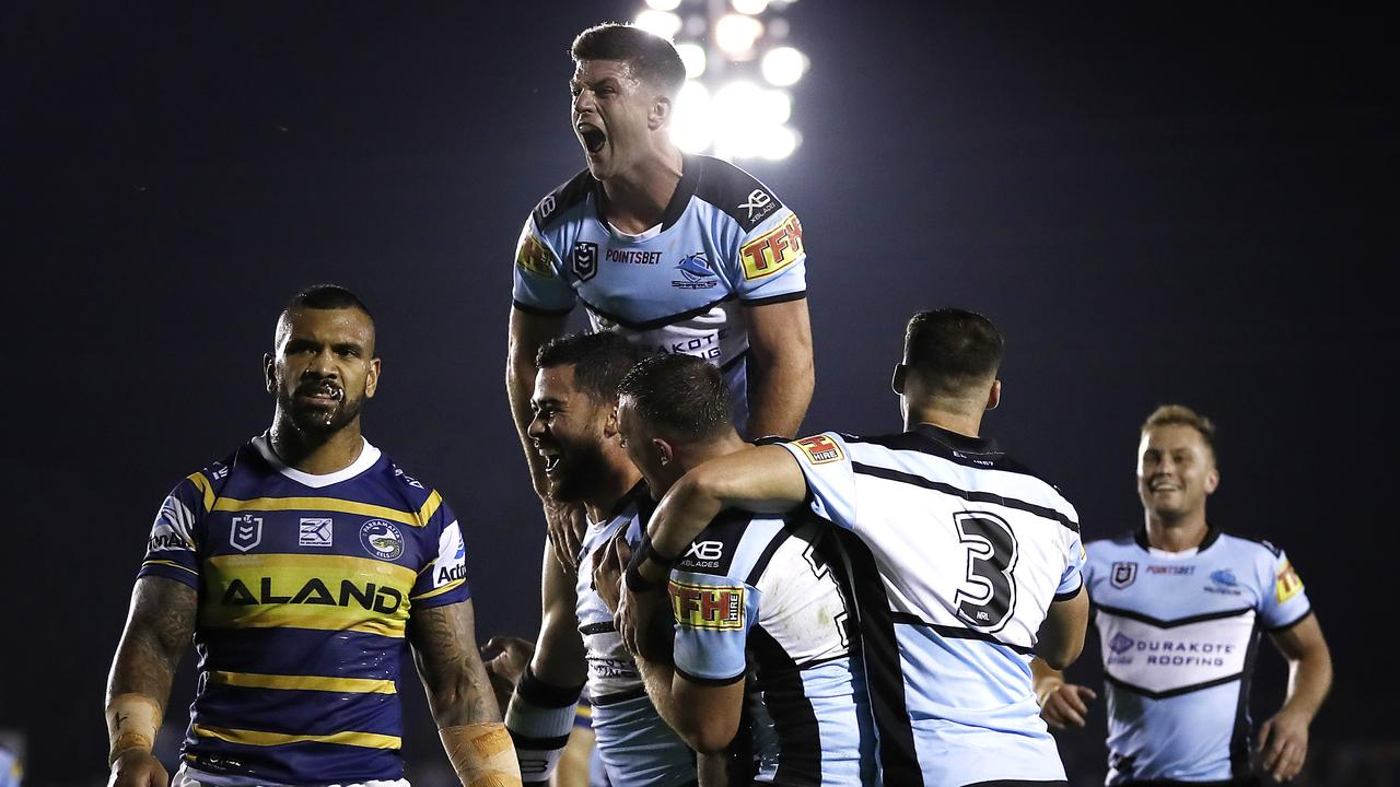 The Sharks were dominant against the Eels.