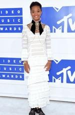 Quvenzhane Wallis attends the 2016 MTV Video Music Awards at Madison Square Garden on August 28, 2016 in New York City. Picture: Jamie McCarthy/Getty Images