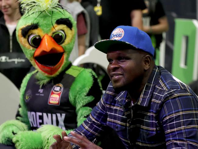 Former NBA star and South East Melbourne owner Zach Randolph at a Phoenix game. Picture: Supplied