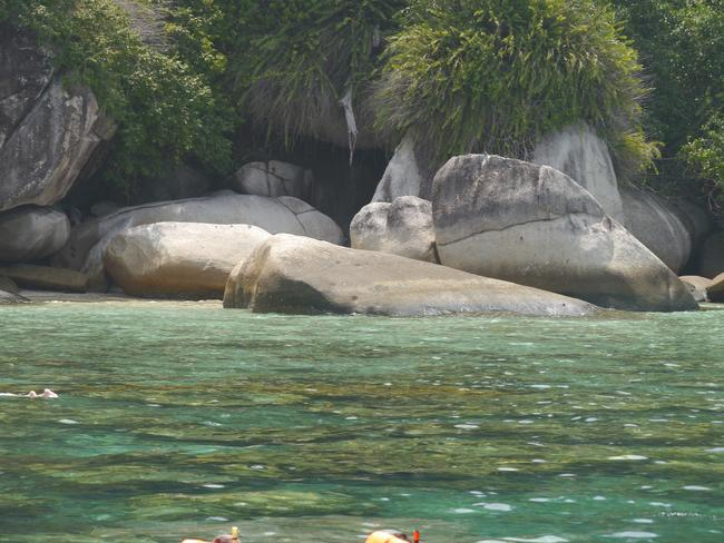 Fish Point Perhentian Islands. Picture: Mar Pages