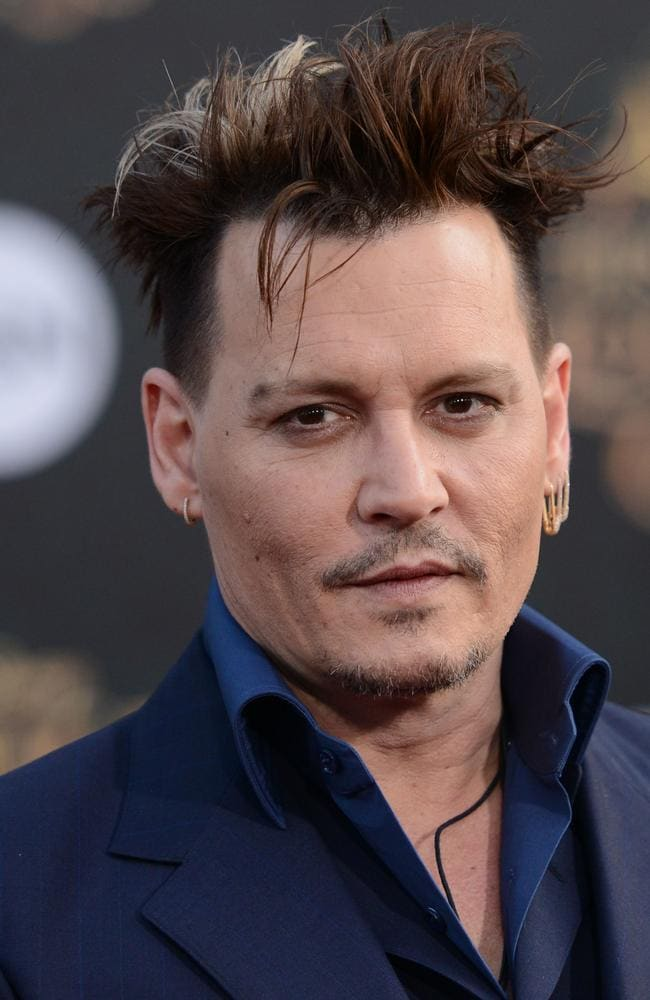 Johnny Depp has been promoting his latest film,  <i>Alice Through The Looking Glass</i>. Picture: Splash News