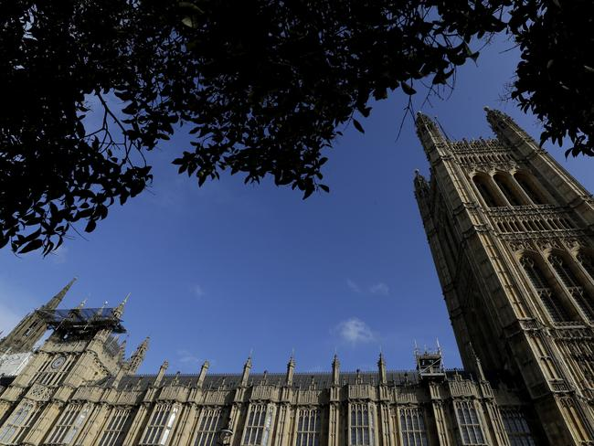 Britain's parliament is set to vote Saturday on Prime Minister Boris Johnson's new deal with the European Union, a decisive moment in the prolonged bid to end the Brexit stalemate. Picture: AP Photo/Kirsty Wigglesworth