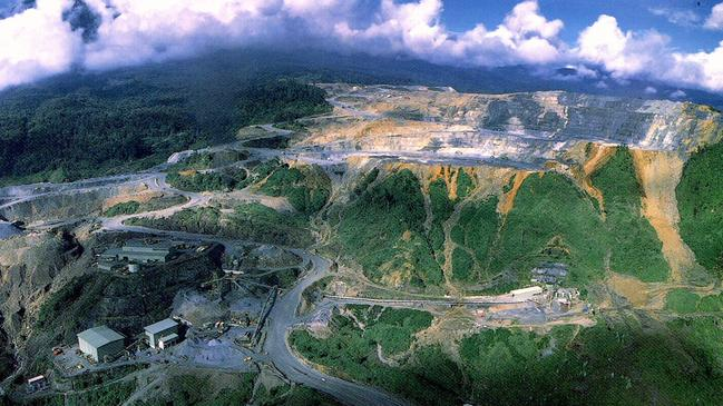 The Porgera gold mine in Papua New Guinea is one of the world's largest.