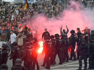 Just as Steyn foretold: wild scenes in Chemnitz