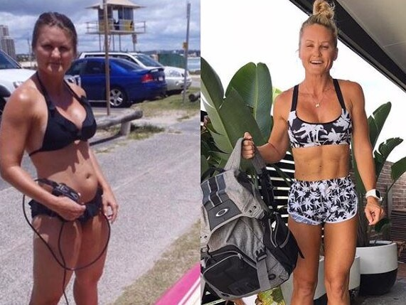 This 41-year-old mum has reversed time, looking better at 41 than she did at 21. Picture: Belinda.n.x