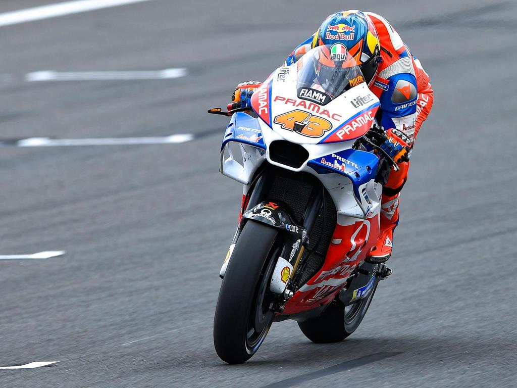 Jack Miller ended Practice 2 at the Japanese Grand Prix in fourth place. Pic: MotoGP