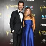 The 2016 AACTA Awards. Charlie Clausen & Ada Nicodemou. Picture Instagram