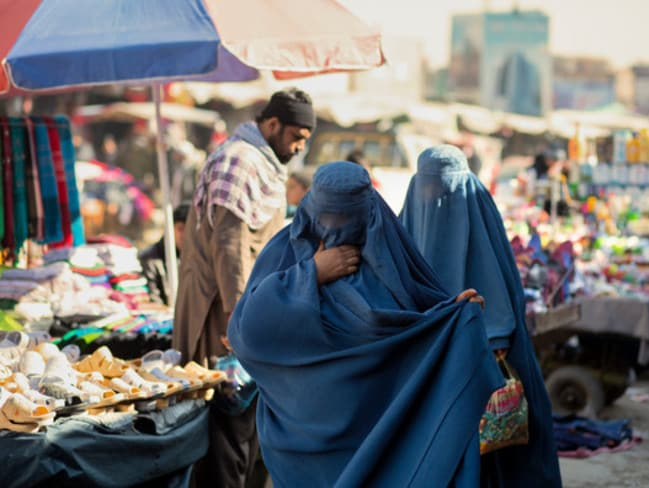 At the markets. Picture: Jim Huylebroek