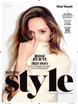 Sunday Style, July 31.