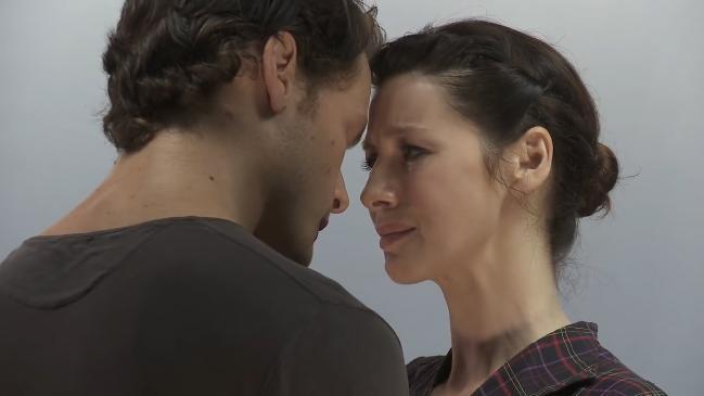 Sam Heughan and Caitriona Balfe's Outlander season 3 screen test