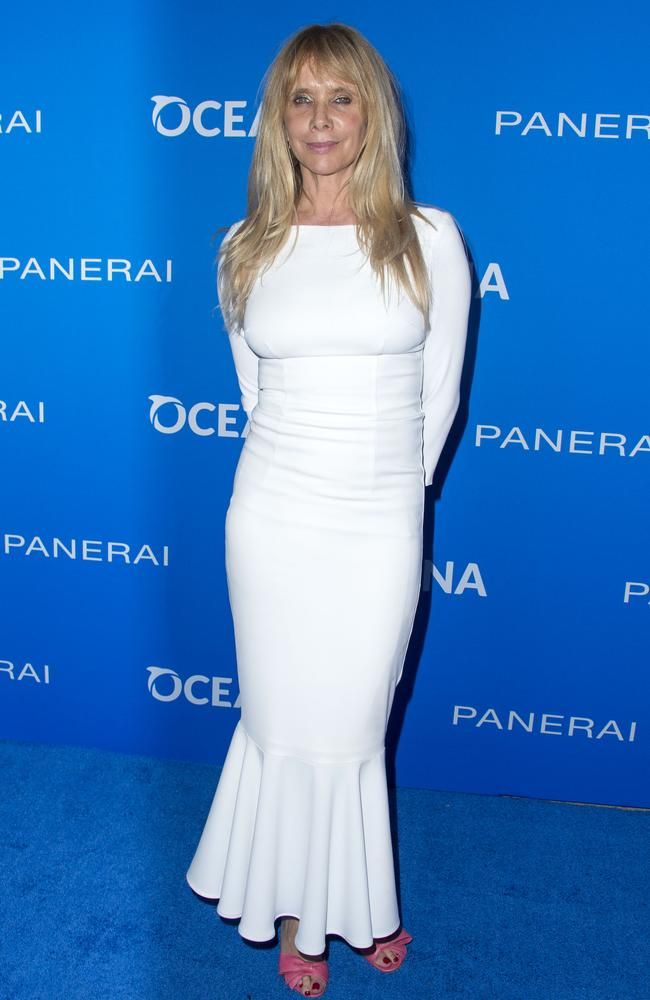 Rosanna Arquette inspired the title for the famed Toto hit. Picture: AFP/Valerie Macon.