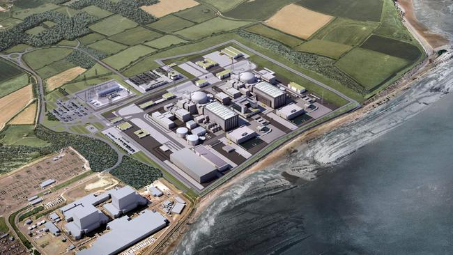 Artist's impression of Hinkley Point C. Picture: AFP/EDF Engery/ HayesDavidson