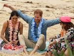 Prince Harry and Meghan's royal tour of Australia - Day 4. Picture: Matrix