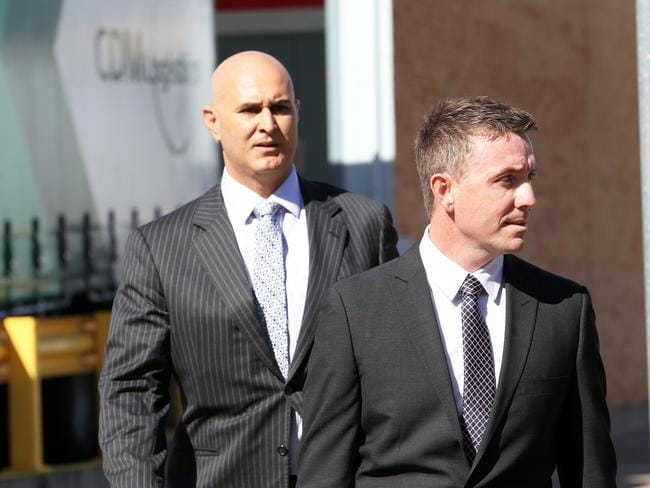 One Nation's chief of staff James Ashby, above in April, was the subject of an Al Jazeera secret documentary about the US gun lobby. Picture: Peter Lorimer.