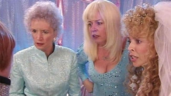 This is some next level Australiana. Image: 'Kath & Kim'