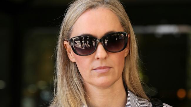 Sydney socialite Lisa Stockbridge was jailed for at least two and a half years for her drug dealing enterprise. Picture: John Grainger