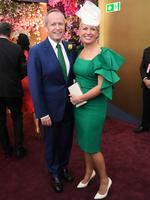 Australia's Leader of the Opposition Bill Shorten and his wife Chloe Shorten. Photo: AAP Image/Julian Smith
