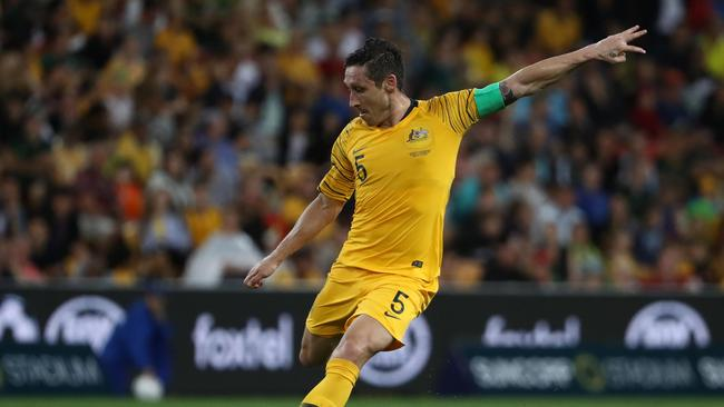 The 33-year-old will become just the fifth man to lead Australia into a major international tournament.