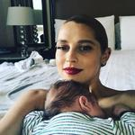 """Teresa Palmer ... """"Upstairs at the Golden Globes for breastfeeding breaks!! #momlife"""" Picture: Instagram"""
