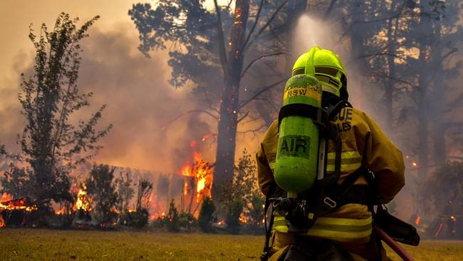 Firefighters are preparing for a difficult week with conditions set to worsen on Thursday. Picture: Matrix