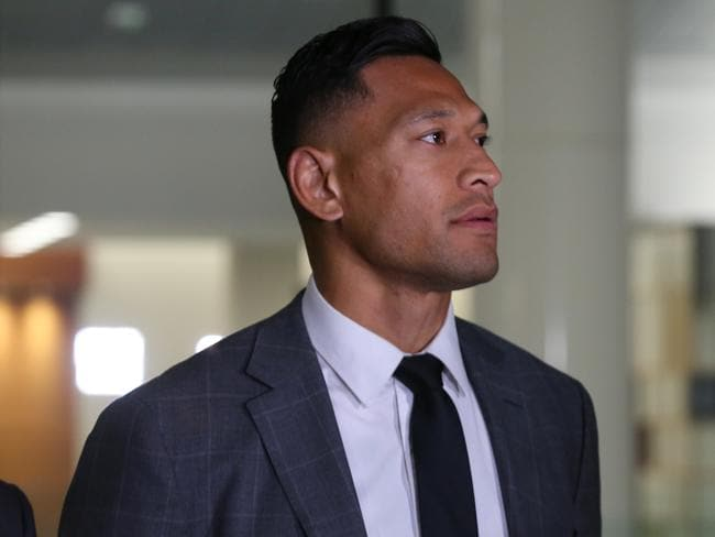 Israel Folau's controversial post is still live on his Instagram.