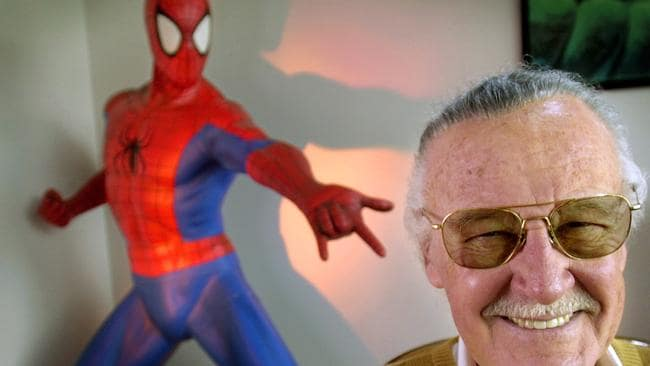 Stan Lee is the creator of comic-book franchises such as Spider-Man. Picture: AP