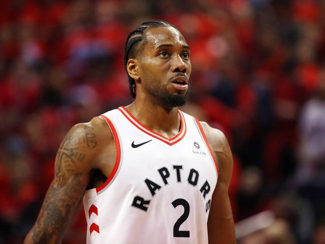 Kawhi Leonard's move from the Toronto Raptors to the LA Clippers has seen their price plummet for the 2020 NBA title. Picture: Gregory Shamus/Getty Images