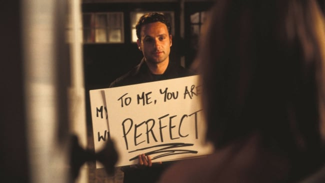 CREEPY. Photo: 'Love, Actually'