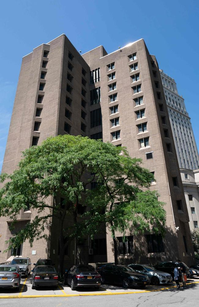 The Metropolitan Correctional Center where financier Jeffrey Epstein was being held and committed suicide while awaiting trial on charges that he trafficked underage girls for sex. Picture: Don Emmert