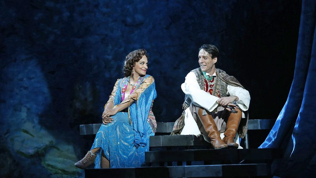 Danielle De Niese In Fine Form As The Merry Widow And Alexander Lewis Her Lover