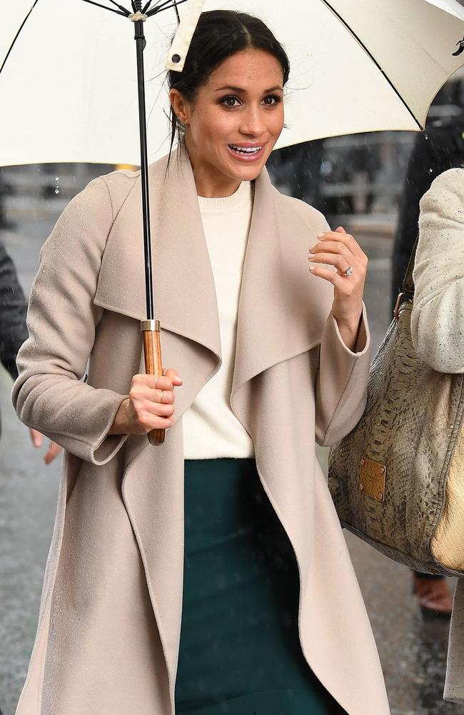 Meghan Markle learning the ropes of being a Royal. Picture: MEGA