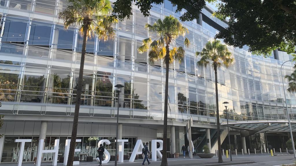 The Star Casino & Hotel has confirmed a positive COVID-19 case. Picture: Bianca De Marchi